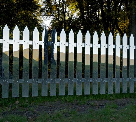 Fence Mirror