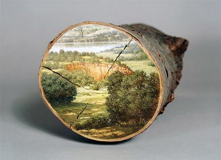 Log Paintings