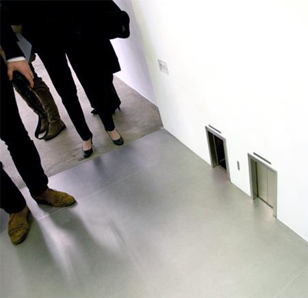 Maurizio Cattelan Miniature Elevators