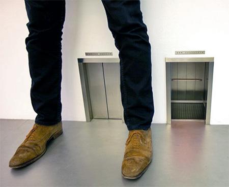 Maurizio Cattelan Elevator