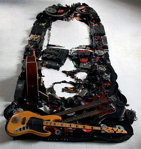 Musical Instruments Portraits