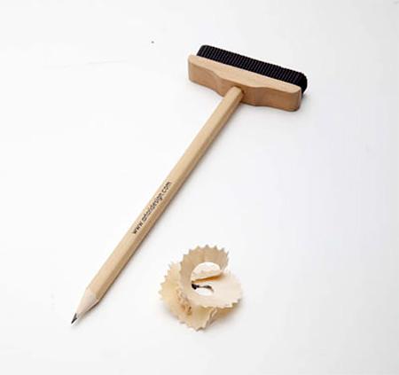 Pencil Eraser Broom