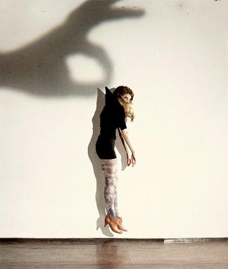 Giant Shadow Hands