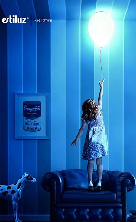 Estiluz Balloon Lamp