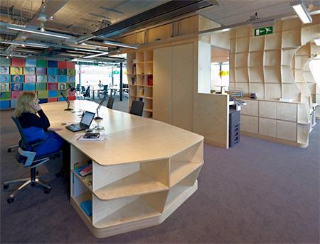Bookshelf Office Space