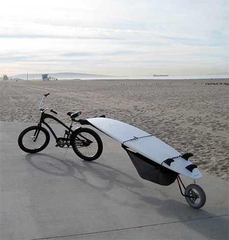 Bike Surfboard Carrier