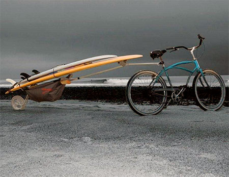 Bike Surfboard Rack