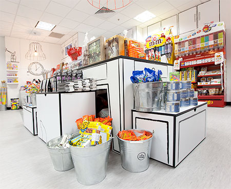 Red Design Group Candy Store