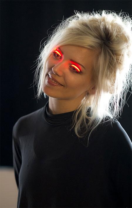 Light Eyelashes