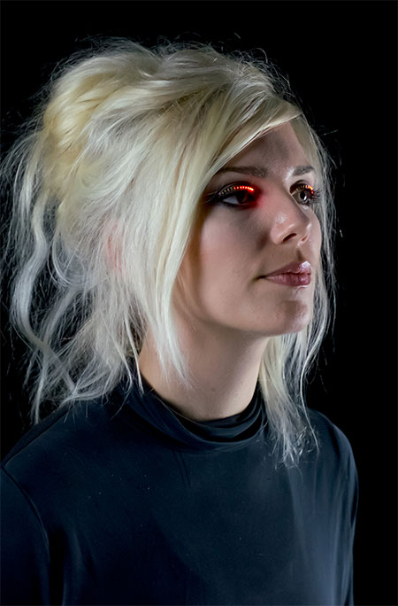 Illuminated Eyelashes