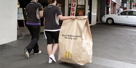 Giant McDonalds Bag