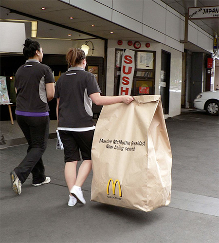 Massive McDonalds Bag