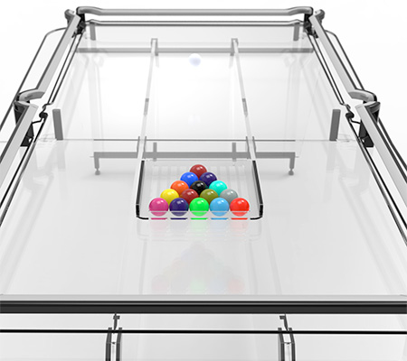 Transparent Pool Table