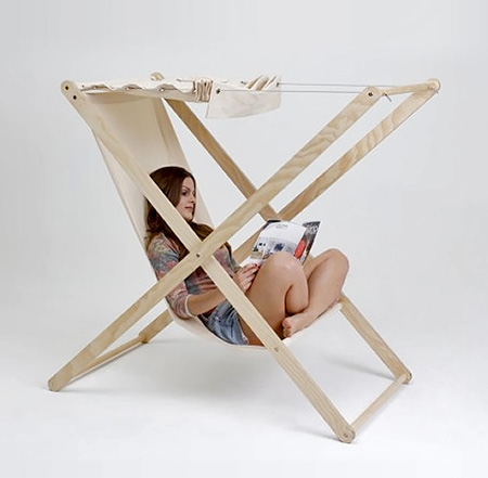 Tiago Braz Martins Hammock Chair
