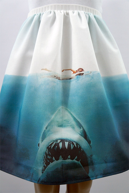 Jaws Shark Skirt