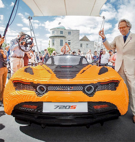 Goodwood Festival of Speed LEGO McLaren