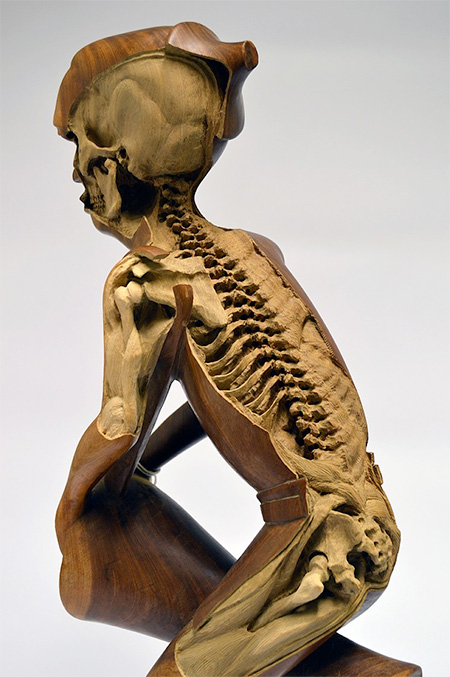 Maskull Lasserre Sculpture Skeletons