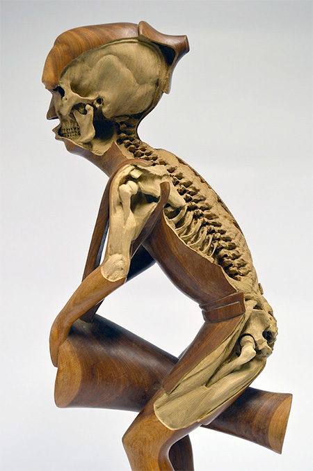 Maskull Lasserre Sculpture Skeleton