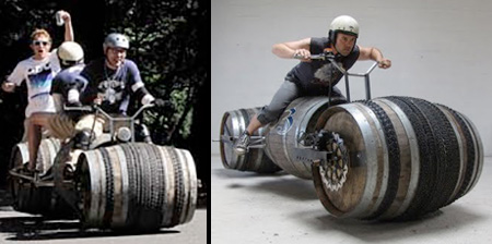 Barrel Bicycle
