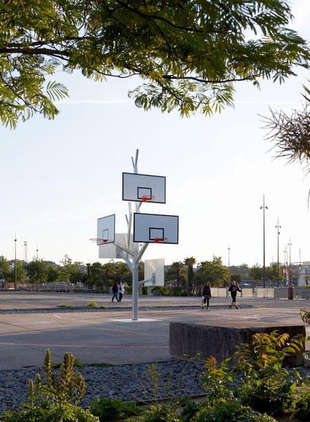 Basketball Hoop Tree