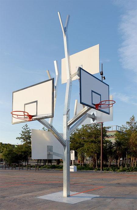 Basketball Hoops Tree