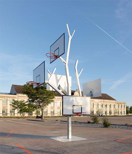 a LTA Basketball Tree