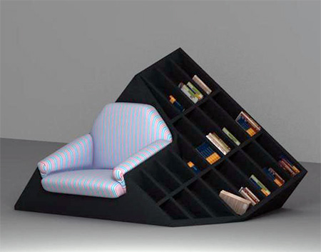 Armchair Bookshelf