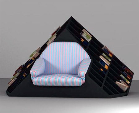Bookshelves Armchair