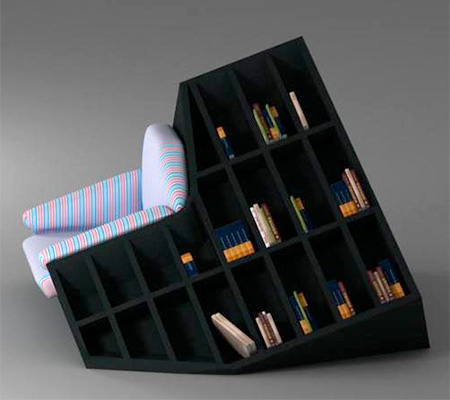 Armchair Bookshelves