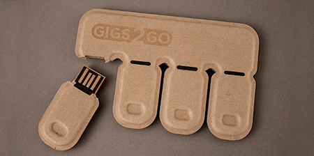 Disposable USB Flash Drives