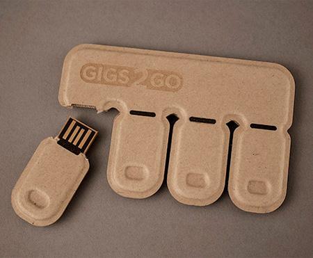 Disposable USB Flash Drive