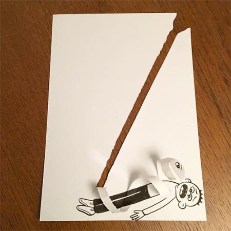 Paper Art by HuskMitNavn