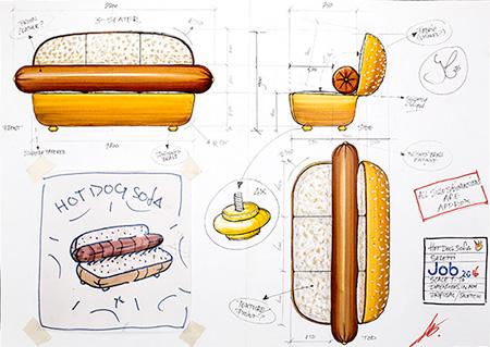 Studio Job Hot Dog Sofa