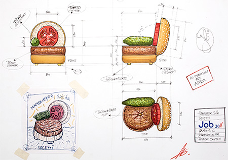 Studio Job Hamburger Chair