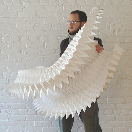 Paper Sculptures by Matt Shlian