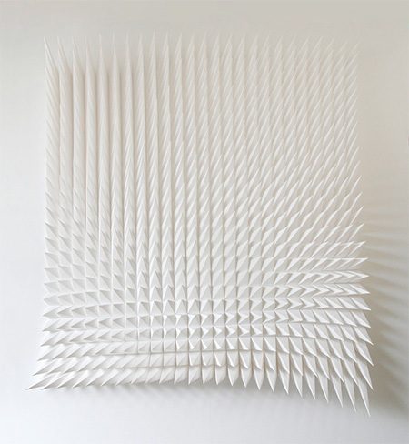 Matt Shlian Paper Sculptures