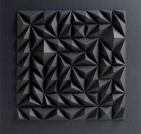 3D Paper Art by Matt Shlian
