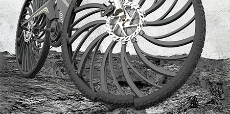Shock Absorbing Bicycle Tire