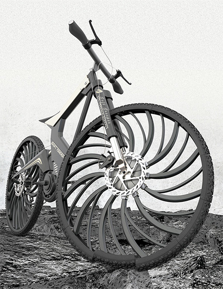 Shock Absorber Bicycle Tire