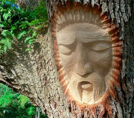 Keith Jennings Tree Face