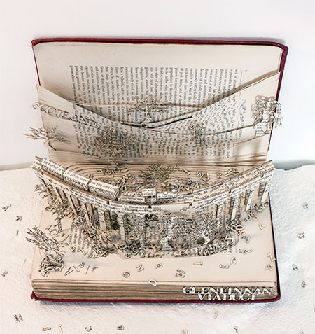 Thomas Wightman 3D Book Sculpture