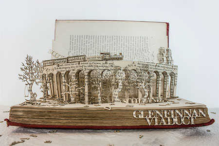 Thomas Wightman Book Sculptures