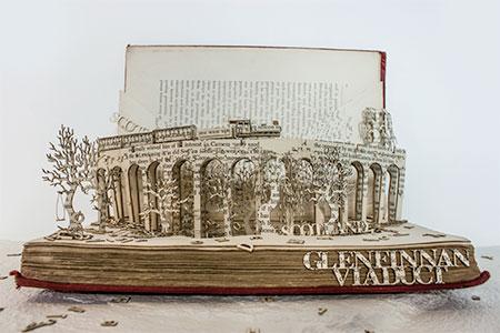 Thomas Wightman Book Sculptures