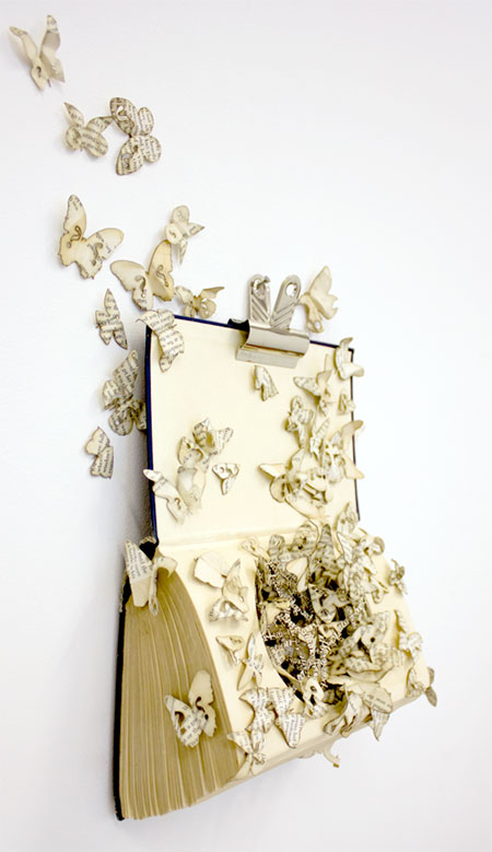 Thomas Wightman 3D Book Art