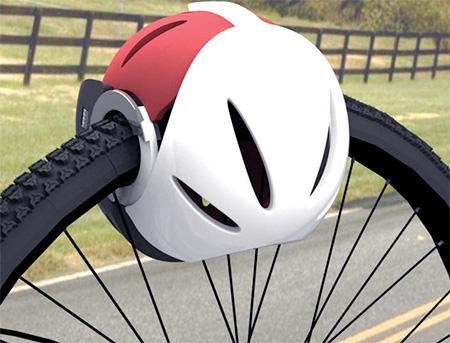 Bike Helmet Lock