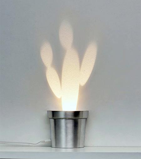 Light Cactus Lamp