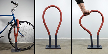 Flexible Bicycle Racks