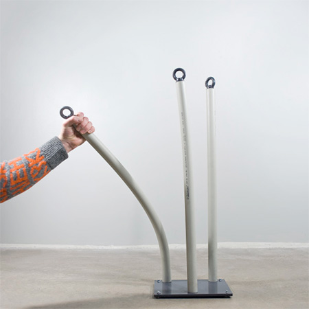 Flexible Bicycle Rack