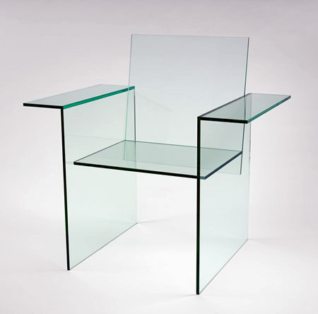 Shiro Kuramata Glass Chair