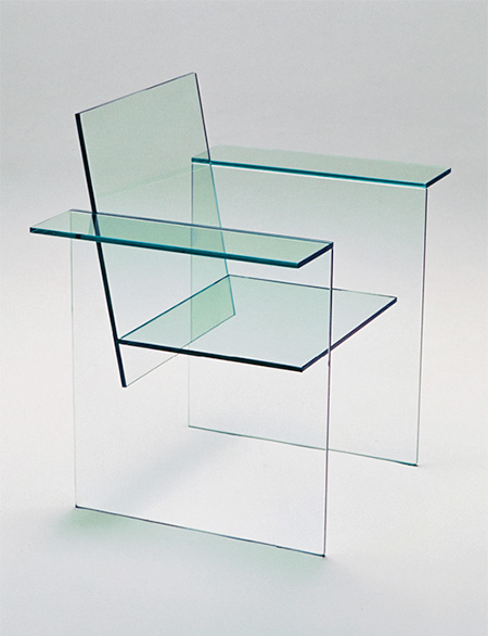 Transparent Glass Chair